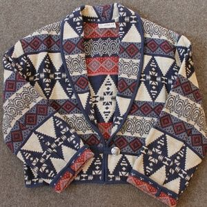 Southwestern Tapestry Woven Jacket